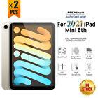"2X Apple iPad Mini 6th 2021 8.3"" Full Coverage Tempered Glass Screen Protector"