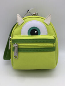 Loungefly Disney Parks - Monsters U Inc. Mike Wazowski - Wristlet Mini Belt Bag