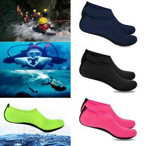 Women Men Water Shoes Aqua Socks Diving Beach Sea Socks Wetsuit Non-slip Swim