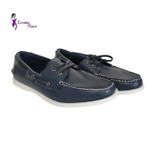 Nautica Men's Navy Boat Shoes Size  10.5