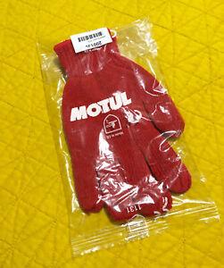 Brand New Motul Work Mechanic Gloves. Genuine Merchandise. Honda Mugen