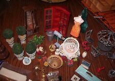 MINIATURE 1:12 DOLLHOUSE MISC. LOT