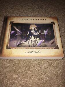 violet evergarden art book Funimation Release