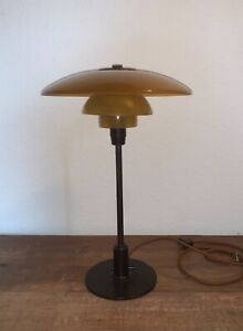 Poul Henningsen PH 3/2 table lamp. Louis Poulsen, 1930's