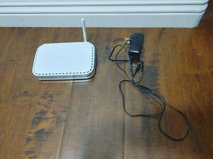 Netgear WGR614v10 54 Mbps 4-Port 10/100 Wireless G Router White Fully Functional