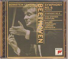 Bernstein Century. Beethoven: Symphonies Nos. 6, 8 (Sony) Like New