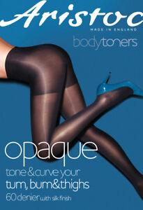 Aristoc Bodytoners Opaque Toner Tights Tone & Curve Tum,Bum & Thighs 60 Denier