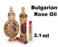 100% Natural Bulgarian ROSE OIL OTTO Essential Rosa damascena CERTIFIED