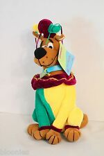 """Scooby Doo 12"""" Plush Toy Doll dressed as a JESTER NWT NEW"""