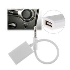 Un câble Jack 3.5mm Stéréo Audio Prise Mâle Vers USB 2.0 Femelle Adaptateur