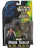 Star Wars Power of The Force Deluxe Han Solo Action Figures with Back Pack