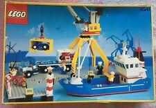 LEGO VINTAGE SYSTEM 1991 6541 port maritimeboîte 100% complète très peu utilisé