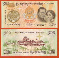 P35    Bhutan   100   Ngultrum   2011    UNC  Pick 35