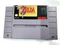 **The Legend of Zelda A Link to the Past Super Nintendo SNES Tested & Authentic!