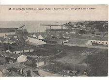 CPA - SAINT-GILLES-CROIX-DE-VIE (85 VENDÉE) - ENTRÉE DU PORT - ÉCRITE EN 1931