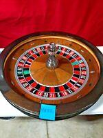Roulette Wheel TCS JOHN HUXLEY 32 Inch (Used) #4872  0/00