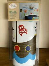 pirate wall stickers , 50 pirate stickers ideal for children's bedroom