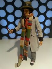 """DOCTORS WHO 4TH DR 11 SET WITH SONIC THE SEEDS OF DOOM VERSION 5"""" CLASSIC FIGURE"""