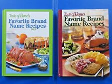 NEW BOOKS:  Taste of Home's FAVORITE BRAND NAME RECIPES 2006, 2007 COOK LOT OF 2