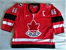 Nike Mario Lemieux Authentic Canada Hockey Jersey sz 52 vintage 90s 00s Penguins