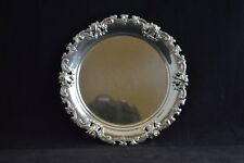 "Wallace Grande Baroque Sterling Silver Pierced Bread & Butter Plate 4306 - 6"""