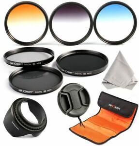 K&F Concept 67mm Professional Neutral Density Filters Graduated Color Filter Set