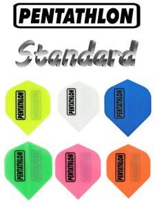 6 Dart Flights Pentathlon STANDARD - Farbe wählbar