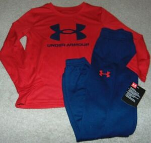 ~NWT Boys UNDER ARMOUR Outfit! Size 5 Super Cute:)!