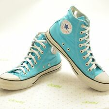 Converse All-Star Chuck Taylor High Top Turquoise Teal Shoes Mens 8 Women's 10