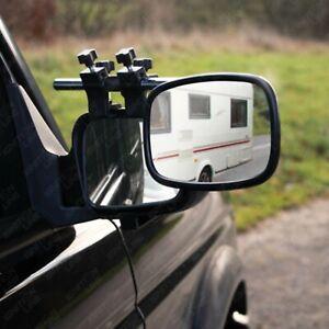 Maypole MP8329 Pair Of Caravan Towing Mirrors Convex Glass Aero Shape Durable