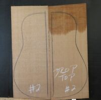 WESTERN RED CEDAR LUTHIER TONEWOOD GUITAR TOP SET 02  STEEL STRING  FREE SHIPPIN