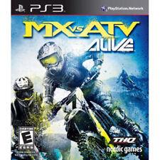 MX VS ATV Alive Sony Playstation 3, PS3 - Brand New Factory Sealed