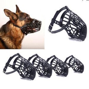 Adjustable Dog Safety Muzzle Pet Basket Mouth Cover Cage Anti Stop Bark Bite√