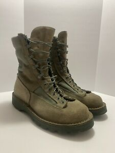 """Danner Sage Green USAF 8"""" Leather Boots Women's Size 9"""