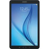Samsung Galaxy Tab E SM-T377W 16GB, Wi-Fi + 4G (GSM Unlocked), 8in - Black
