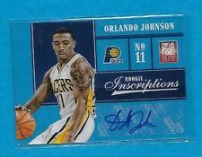 2012-13 Panini Elite ORLANDO JOHNSON Rookie Inscriptions AUTOGRAPH card