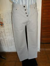 Pantalon coton beige cottelé LEVIS 551  Coupe droite W32 L34 38FR 17APH8