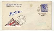 A1357)NEDER. 1962 Raketenvlught Signed de Bruijen
