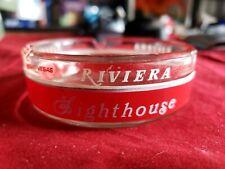 Vintage Riviera Casino Glass Ashtray (Las Vegas) Café Noir Delmonico Lighthouse