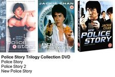 THE POLICE STORY TRILOGY COLLECTION DVD TRIPLE Part 1 2 3 Jackie Chan New UK