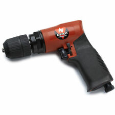 """Neiko 30096A 3/8"""" Composite Reversible Air Drill With Keyless Chuck 90 PSI"""