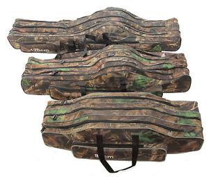 Angeltasche Rutentasche Rutenfutteral Angelkoffer Anglertasche Tasche box (3fach