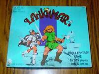 TSR 1976 : Lankhmar game - by Fritz Leiber - RARE LIZARD LOGO - 1st Edition