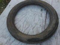 NOS NEW Vintage MC Brand Tire 2.75-17 Ribbed