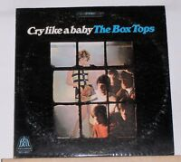 THE BOX TOPS - CRY LIKE A BABY - Original Stereo 1968 LP RECORD - BELL 6017