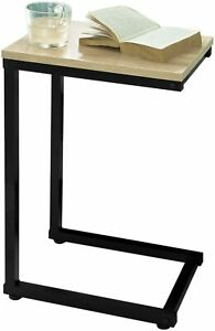 Laptop Table/Side Table, C table, Couch table, Industrial Table, Grey Space