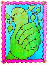 Original 1976 Green Thumb Hot Peel Iron On Transfer