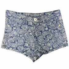 Shorts bleus coton mélangé pour garçon de 2 à 16 ans
