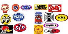 Retro 15 Pcs Sticker set, camper, hotrod, vintage, vw, pvw, T4, T5