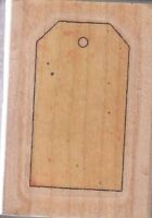 "cutting board stamp cabana  Wood Mounted Rubber Stamp 2 1/2 x 1 3/4"" Free Ship"